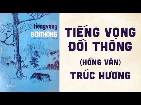 🎵 Tiếng Vọng Đồi Thông (Đồi Thông Hai Mộ 2, Hồng Vân) Trúc Hương Pre 1975 | Bìa Nhạc Xưa