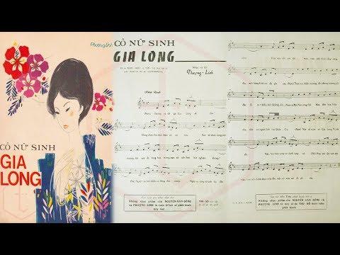 🎵 Cô Nữ Sinh Gia Long (Phượng Linh) Chế Linh, Diệu Thanh Pre 1975 | Tờ Nhạc Xưa