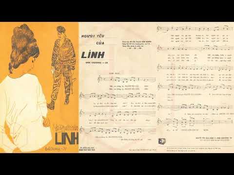 🎵 Người Yêu Của Lính (Anh Chương) Hoàng Oanh, Hồng Phúc Pre 1975 | Tờ Nhạc Xưa
