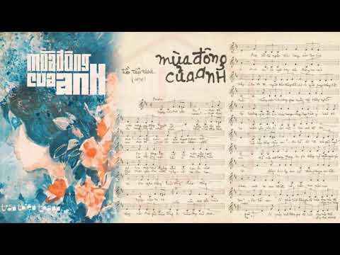🎵 Mùa Đông Của Anh (Trần Thiện Thanh) Thanh Lan Pre 1975 | Tờ Nhạc Xưa