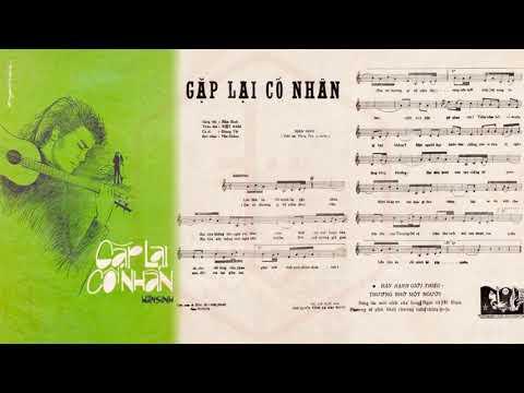 🎵 Gặp Lại Cố Nhân (Hàn Sinh) Giang Tử Pre 1975 | Tờ Nhạc Xưa
