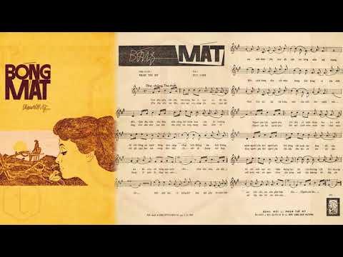 🎵 Bóng Mát (Phạm Thế Mỹ) Hà Thanh Pre 1975 | Tờ Nhạc Xưa