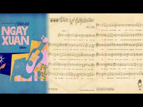 🎵 Tâm Sự Ngày Xuân (Hoài An) Thanh Thúy Pre 1975   Tờ Nhạc Xưa