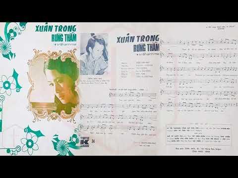 🎵 Xuân Trong Rừng Thẳm (Trần Anh Mai) Tam Ca Sao Băng Pre 1975 | Tờ Nhạc Xưa