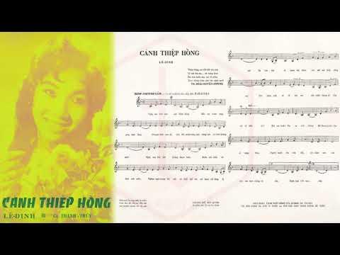 🎵 Cánh Thiệp Hồng (Tân Cổ, Lê Dinh) Mỹ Châu Pre 1975 | Tờ Nhạc Xưa