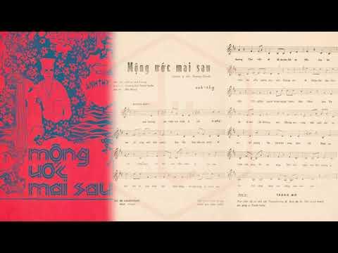 🎵 Mộng Ước Mai Sau (Anh Thy) Thanh Tuyền, Phương Đại Pre 1975 | Tờ Nhạc Xưa