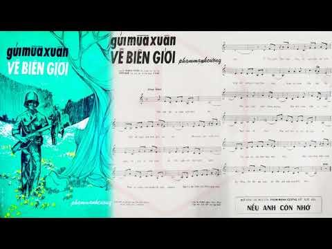 🎵 Gửi Mùa Xuân Về Biên Giới (Phạm Mạnh Cương) Thanh Tuyền Pre 1975 | Tờ Nhạc Xưa