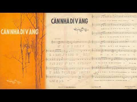 🎵 Căn Nhà Dĩ Vãng (Đài Phương Trang) Chế Linh, Thanh Tâm Pre 1975 | Tờ Nhạc Xưa