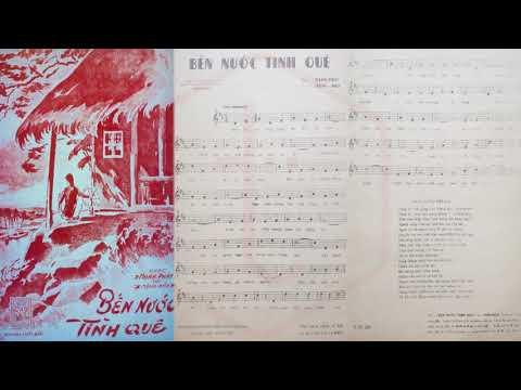 🎵 Bến Nước Tình Quê (Mạnh Phát, Mộng Bảo) Minh Diệu, Mạnh Phát Pre 1975 | Tờ Nhạc Xưa