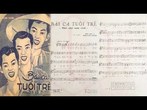 🎵 Bài Ca Tuổi Trẻ (Phạm Đình Chương) Ban Hợp Ca Thăng Long Pre 1975 | Tờ Nhạc Xưa