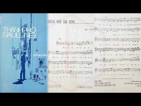 🎵 Thành Phố Sau Lưng (Hàn Châu) Hương Lan Pre 1975 | Tờ Nhạc Xưa