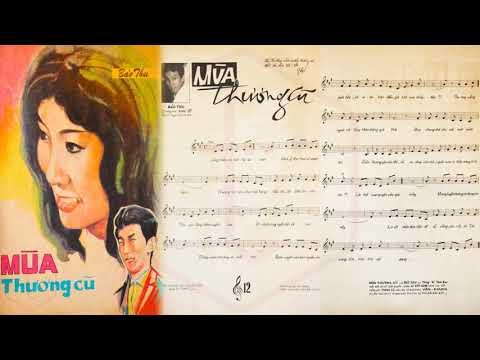 🎵 Mùa Thương Cũ (Bảo Thu) Thái Thanh Pre 1975 | Tờ Nhạc Xưa
