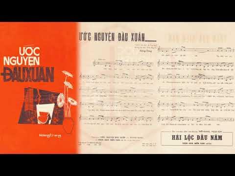 🎵 Ước Nguyện Đầu Xuân (Hoàng Trang) Giao Linh Pre 1975 | Tờ Nhạc Xưa