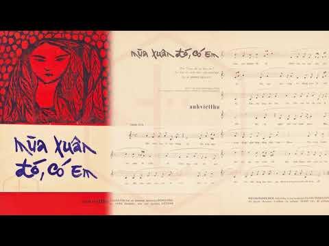 🎵 Mùa Xuân Đó Có Em (Anh Việt Thu) Duy Khánh Pre 1975 | Tờ Nhạc Xưa