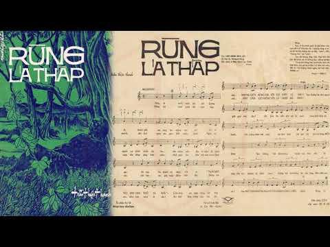 🎵 Rừng Lá Thấp (Trần Thiện Thanh) Hoàng Oanh Pre 1975 | Tờ Nhạc Xưa