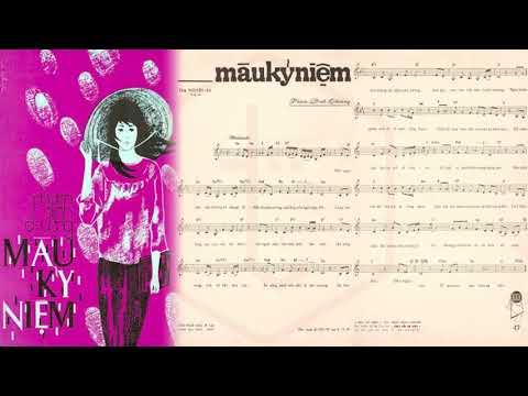 🎵 Màu Kỷ Niệm (Phạm Đình Chương) Hà Thanh Pre 1975 | Tờ Nhạc Xưa