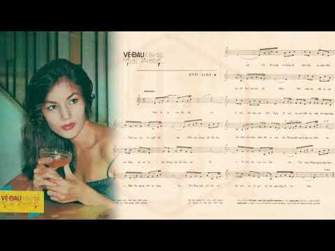 🎵 Về Đâu Mái Tóc Người Thương (Hoài Linh) Thanh Thúy Pre 1975 | Tờ Nhạc Xưa
