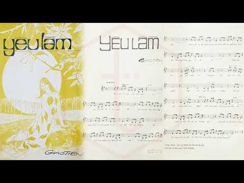 🎵 Yêu Lầm (Giao Tiên) Trang Thanh Lan Pre 1975 | Tờ Nhạc Xưa