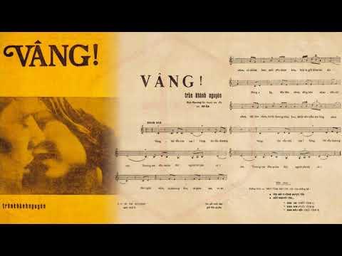 🎵 Vâng (Trần Khánh Nguyên) Elvis Phương Pre 1975 | Tờ Nhạc Xưa