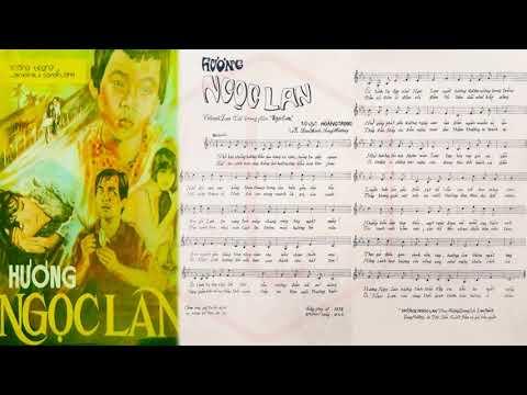 🎵 Hương Ngọc Lan (Hoàng Trọng) Thái Thanh Pre 1975 | Tờ Nhạc Xưa