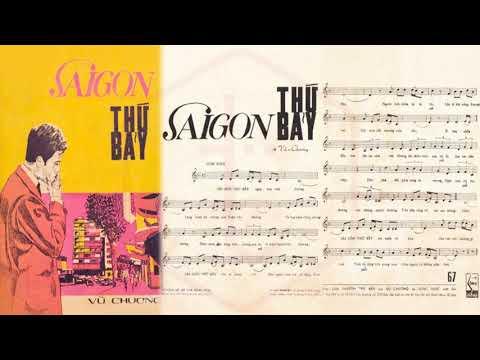 🎵 Sài Gòn Thứ Bảy (Vũ Chương) Trúc Mai Pre 1975 | Tờ Nhạc Xưa