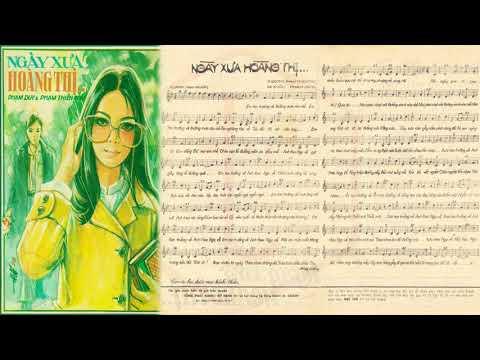 🎵 Ngày Xưa Hoàng Thị (Phạm Duy) Julie Quang Pre 1975 | Tờ Nhạc Xưa