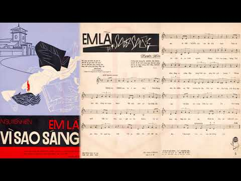 🎵 Em Là Vì Sao Sáng (Nguyễn Hiền) Nhật Trường Pre 1975 | Tờ Nhạc Xưa