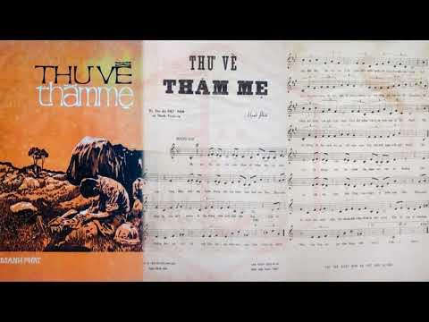 🎵 Thư Về Thăm Mẹ (Mạnh Phát) Thanh Tuyền Pre 1975 | Tờ Nhạc Xưa