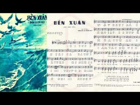 🎵 Bến Xuân (Văn Cao, Phạm Duy) Anh Ngọc Pre 1975 | Tờ Nhạc Xưa