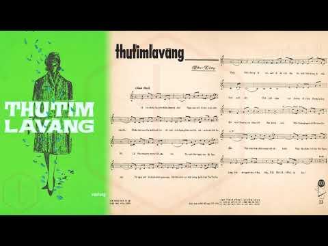🎵 Thu Tím Lá Vàng (Vân Tùng) Hà Thanh, Nhật Trường Pre 1975 | Tờ Nhạc Xưa