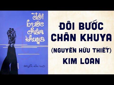 🎵 Đôi Bước Chân Khuya (Nguyễn Hữu Thiết) Kim Loan Pre 1975 | Bìa Nhạc Xưa