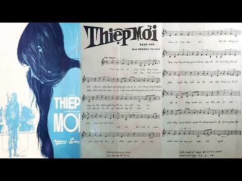 🎵 Thiệp Mời (Ngọc Sơn, Đài Phương Trang) Giao Linh Pre 1975 | Tờ Nhạc Xưa