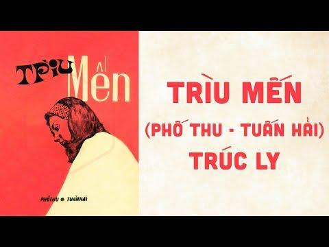 🎵 Trìu Mến (Phố Thu, Tuấn Hải) Trúc Ly Pre 1975 | Bìa Nhạc Xưa