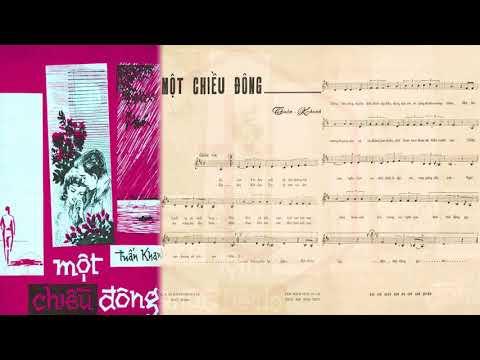 🎵 Một Chiều Đông (Tuấn Khanh) Mai Hương Pre 1975 | Tờ Nhạc Xưa