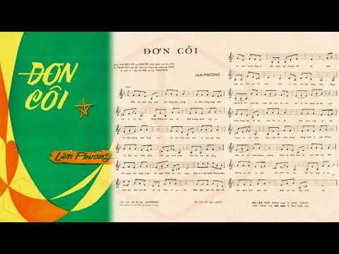 🎵 Đơn Côi (Lam Phương) Thanh Thúy Pre 1975 | Tờ Nhạc Xưa