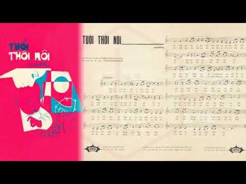 🎵 Tuổi Thôi Nôi (Anh Việt Thu) Hoàng Oanh Pre 1975 | Tờ Nhạc Xưa