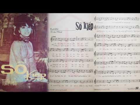 🎵 Số Kiếp (Tuấn Hải, Lê Kim Khánh) Hùng Cường, Mai Lệ Huyền Pre 1975 | Tờ Nhạc Xưa