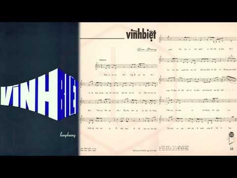 🎵 Vĩnh Biệt (Lam Phương) Phương Yến Pre 1975 | Tờ Nhạc Xưa
