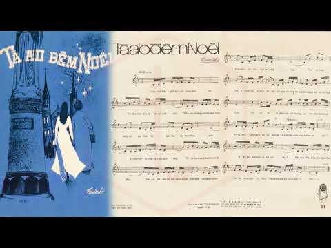 🎵 Tà Áo Đêm Noel (Tuấn Lê) Duy Khánh Pre 1975 | Tờ Nhạc Xưa
