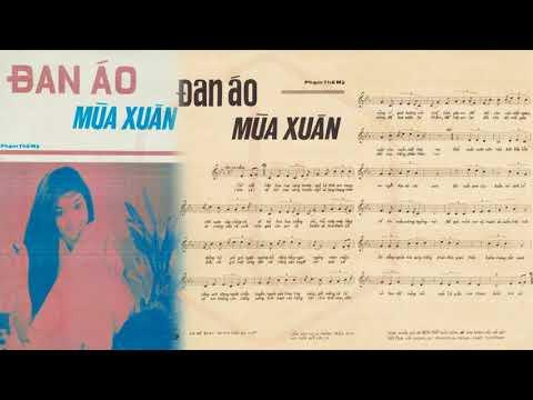 🎵 Đan Áo Mùa Xuân (Phạm Thế Mỹ) Lệ Thu Pre 1975 | Tờ Nhạc Xưa