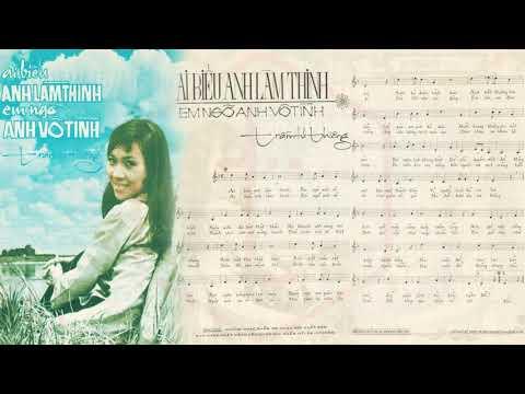🎵 Ai Biểu Anh Làm Thinh (Trầm Tử Thiêng) Trúc Mai Pre 1975 | Tờ Nhạc Xưa