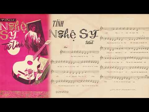 🎵 Tình Nghệ Sỹ (Đoàn Chuẩn, Từ Linh) Carol Kim Pre 1975 | Tờ Nhạc Xưa