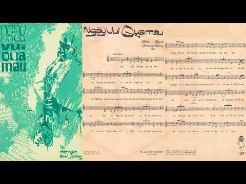 🎵 Ngày Vui Qua Mau (Nhật Ngân, Đinh Việt Lang) Julie Quang Pre 1975 | Tờ Nhạc Xưa