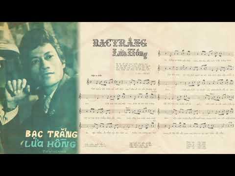 🎵 Bạc Trắng Lửa Hồng (Thy Linh) Thanh Tuyền Pre 1975 | Tờ Nhạc Xưa