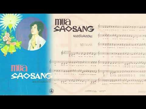 🎵 Mùa Sao Sáng (Nguyễn Văn Đông) Hà Thanh Pre 1975 | Tờ Nhạc Xưa