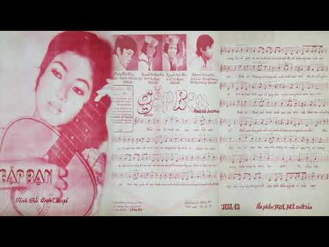 🎵 Gặp Bạn (Vinh Sử, Anh Thoại) Thanh Phong, Phương Đại Pre 1975 | Tờ Nhạc Xưa