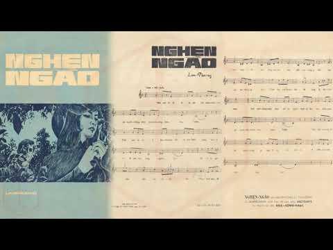 🎵 Nghẹn Ngào (Lam Phương) Anh Khoa Pre 1975 | Tờ Nhạc Xưa