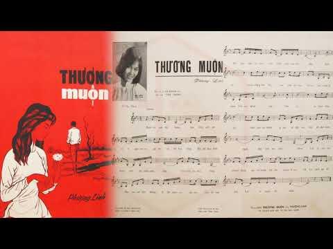 🎵 Thương Muộn (Phượng Linh) Hà Thanh Pre 1975 | Tờ Nhạc Xưa