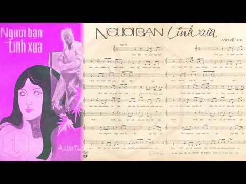 🎵 Người Bạn Tình Xưa (Tân Cổ, Loan Thảo) Phượng Liên, Minh Phụng Pre 1975 | Tờ Nhạc Xưa