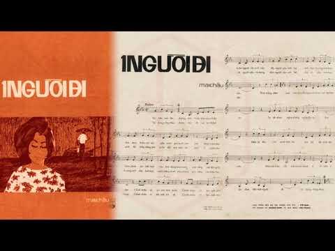🎵 Một Người Đi (Mai Châu) Hương Lan Pre 1975 | Tờ Nhạc Xưa